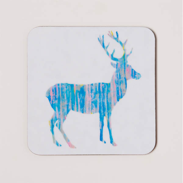 COASTER - Blue Deer Design