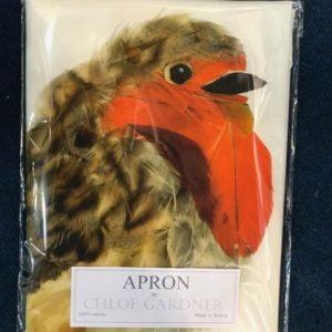 APRON - Large Robin