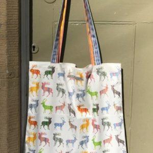SHOPPER BAG - Multistags design