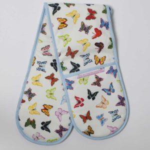 OVEN GLOVES - Butterflies design