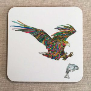 COASTER - Eagle & Fish Design