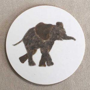 COASTER - Round Elephant