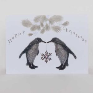 Christmas Cards - Pack of Six - Penguin Pair