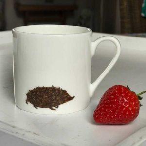 Mini Espresso Mug - Hedgehog Design