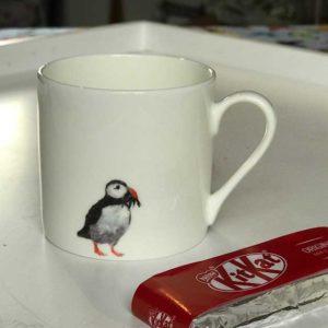 Mini Espresso Mug - Puffin Design