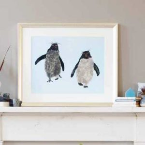Deposit for Rockhopper Pair Print - please read description for total.