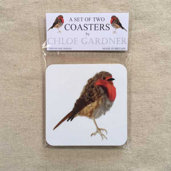 COASTER - Set of 2 - Robin Design