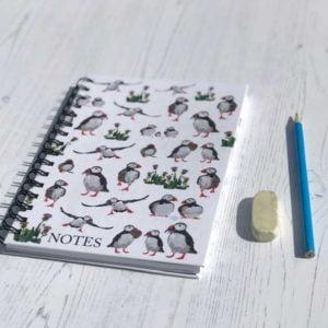 Notebook - Puffins