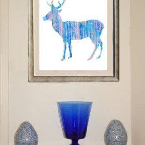 Deposit for Blue Deer Print - please read description for total.
