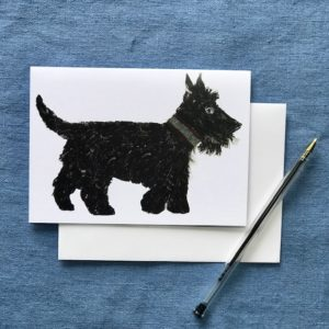 CARD A6 - SCOTTIE DOG