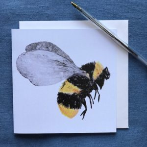 CARD SQUARE - Bee
