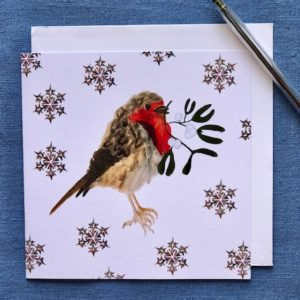 Christmas Cards - Pack of Six - Christmas Robin