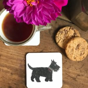 COASTER - Scottie Dog Design