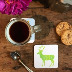 COASTER - Green Deer Design