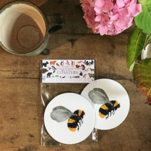 COASTER - Set of 2 - Bee
