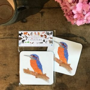COASTER - Set of 2 - KINGFISHER