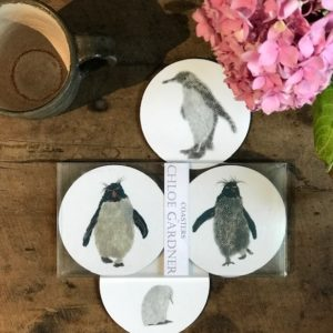 COASTER - Set of 4 - Penguin Design