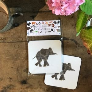 COASTER - Set of 2 - eLEPHANT