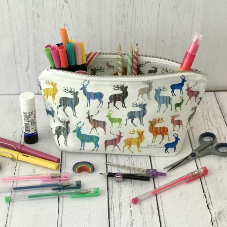 washbag type 4 stags as a pencil case