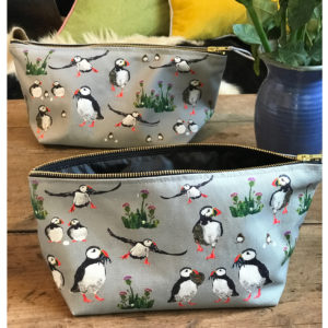 Puffin Washbags (or pencil cases)